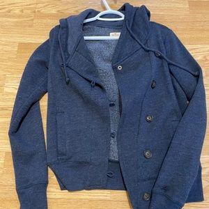 Hollister small hoodie jacket